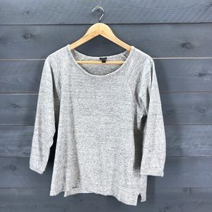 J. CREW Featherweight French Terry Sweatshirt M